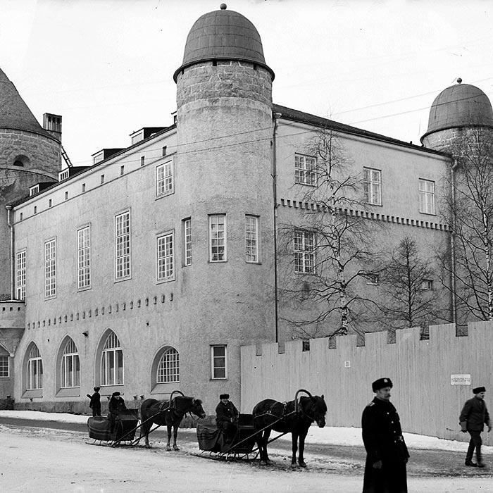 Vanha kuva Kuopion museosta.