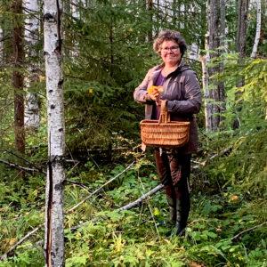 Rehtori Kirsti Turunen.