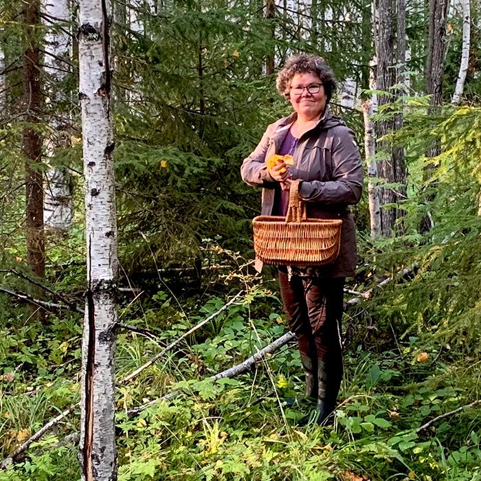 Kuopin kansalaisopiston podcastin rehtori Kirsti Turunen.