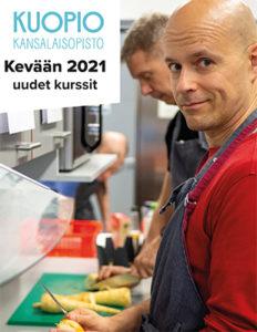 Kuopion kansalaisopiston kevään 2021 uudfet kurssit.